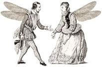 danseurs ailés