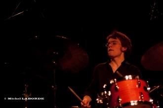 photo de Théo Lanau à la batterie